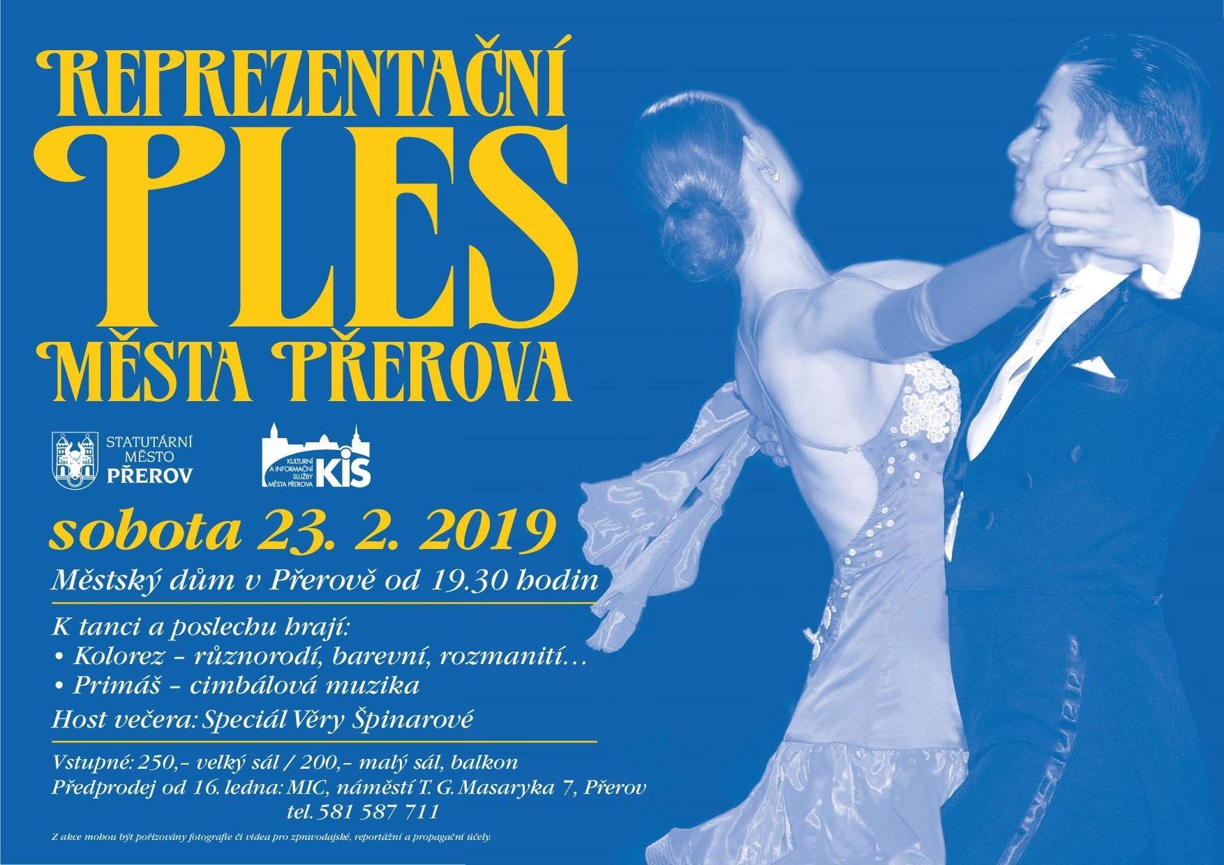 14dd32d7400 Reprezentační ples města Přerova