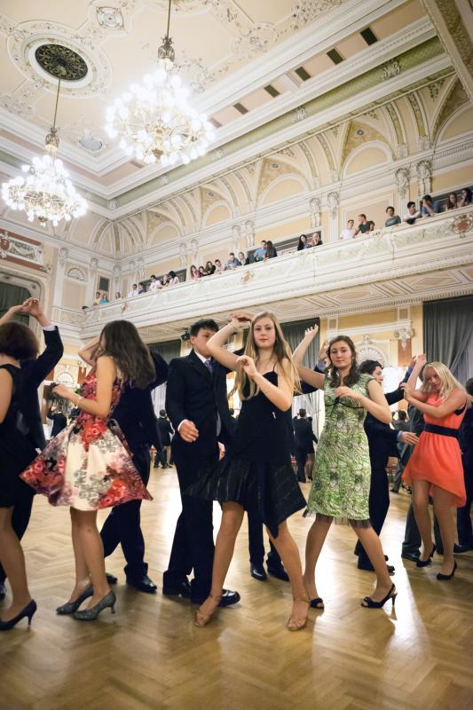Taneční 2014,  druhá lekce večerního kurzu P2, pátek 19.9.2014