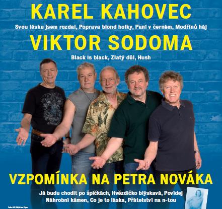 10. 3. - úterý v 19,30 hodin  Karel KAHOVEC a skupina GEORGE and BEATOVENS, obrázek se otevře v novém okně