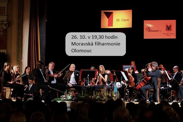Středa 26. 10. v 19,30 hodin - KONCERT Moravské filharmonie Olomouc, obrázek se otevře v novém okně