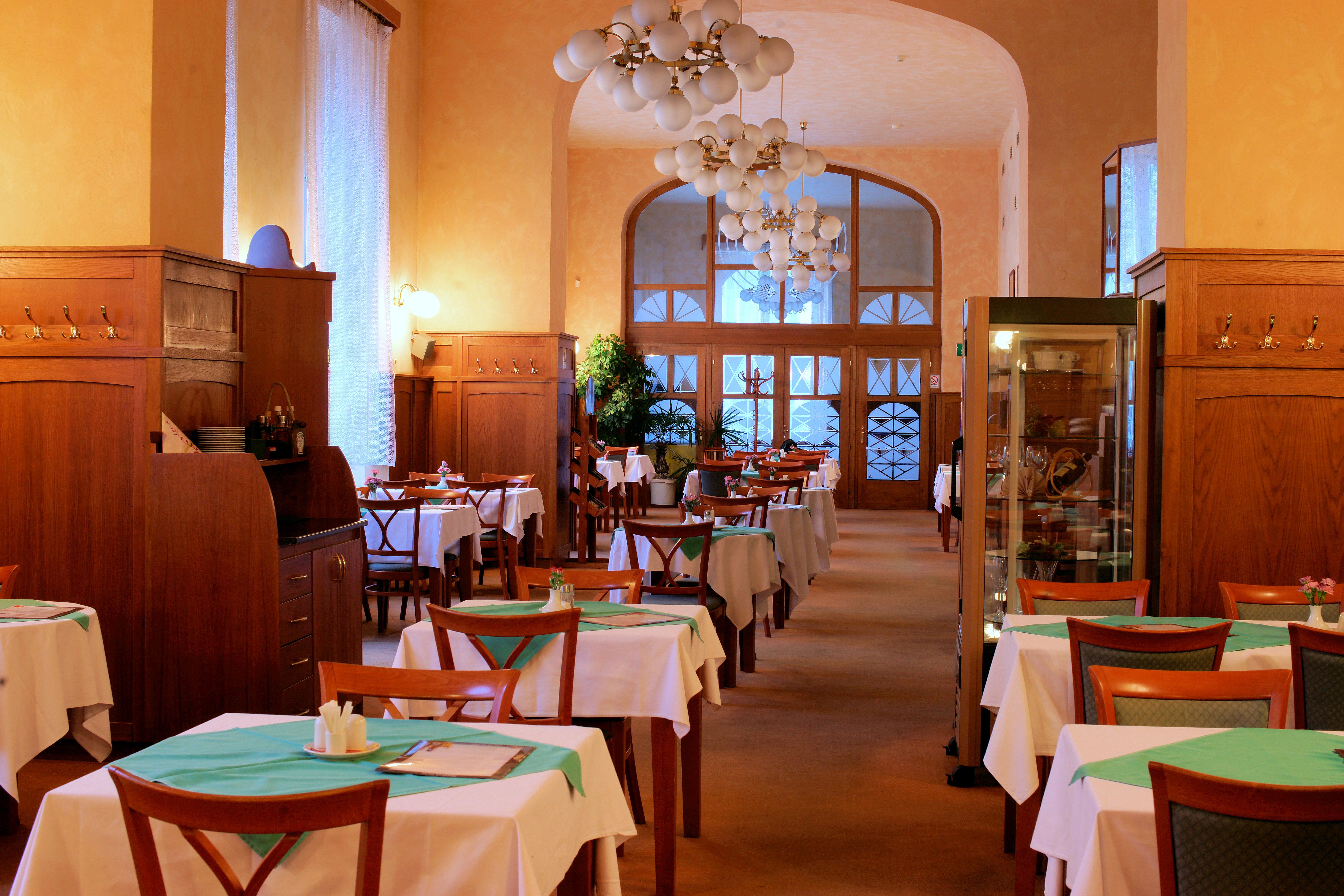 Restaurace, obrázek se otevře v novém okně
